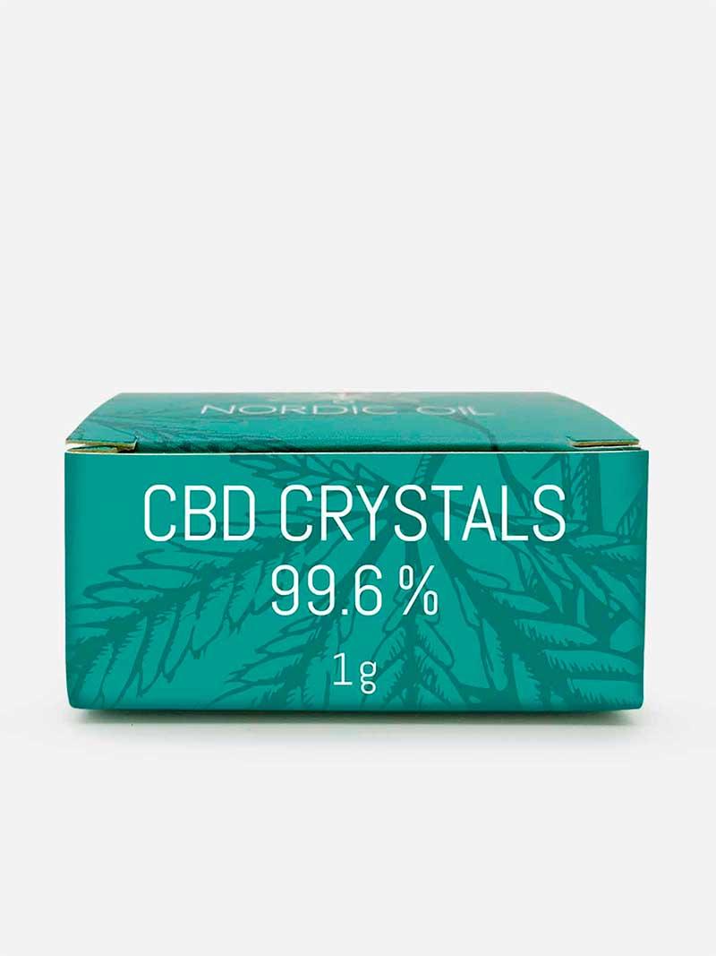 Confezioni di cristalli CBD