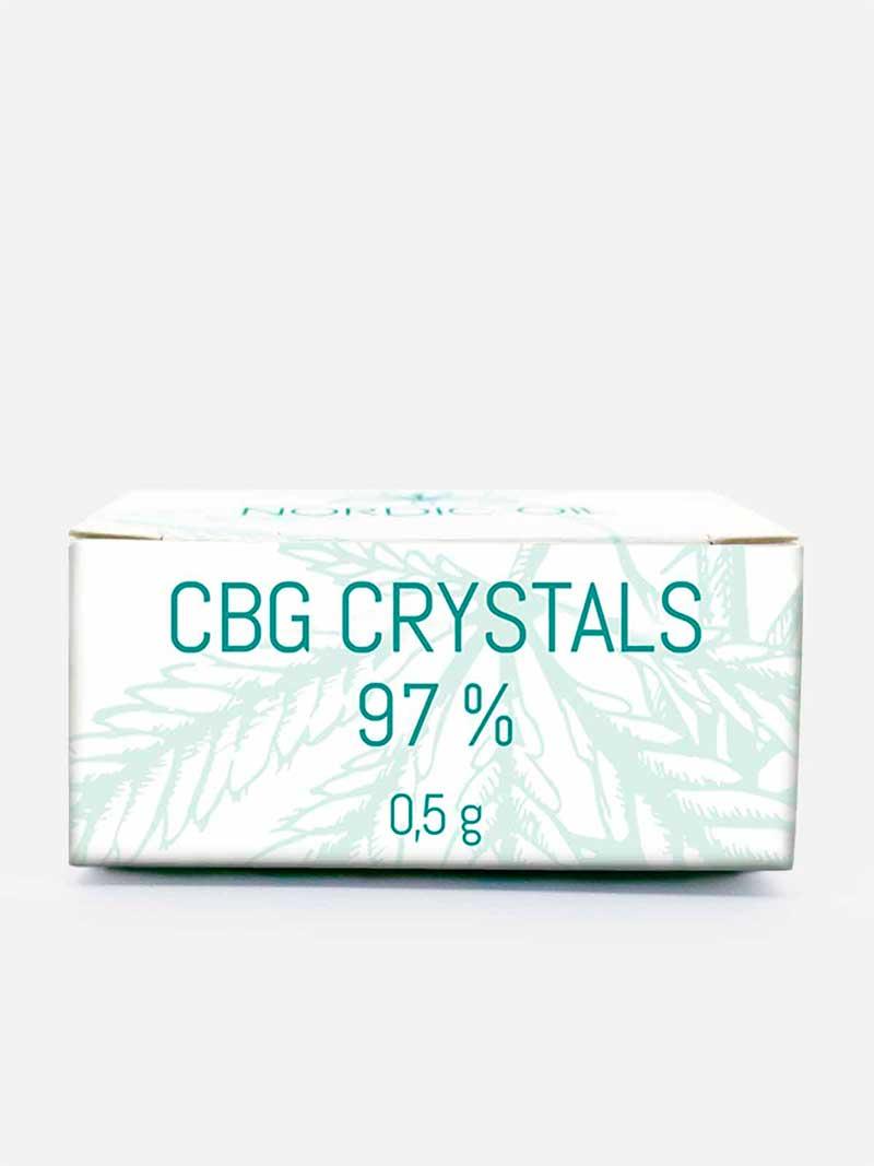 Confezioni cristalli CBG