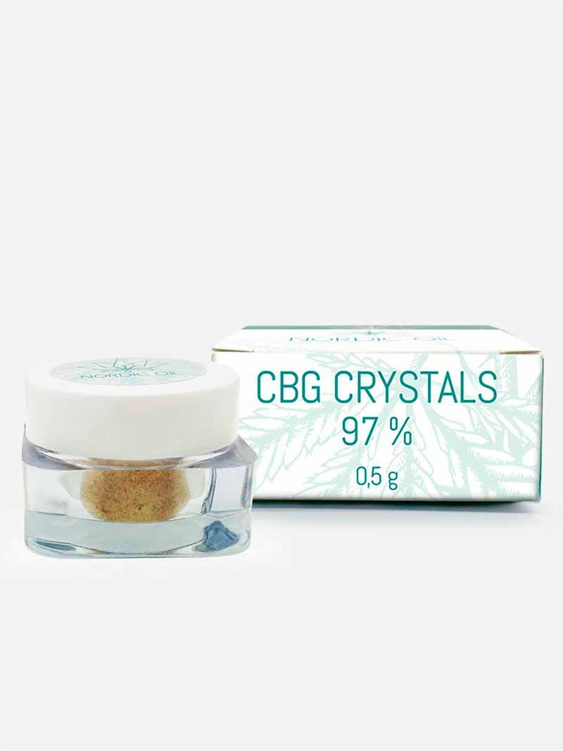 Cristalli di CBG