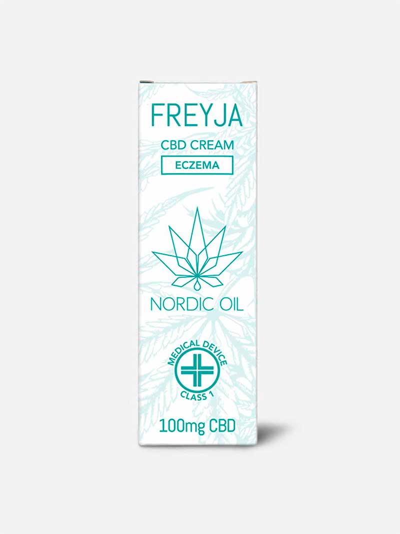 Crema CBD per eczema Freja