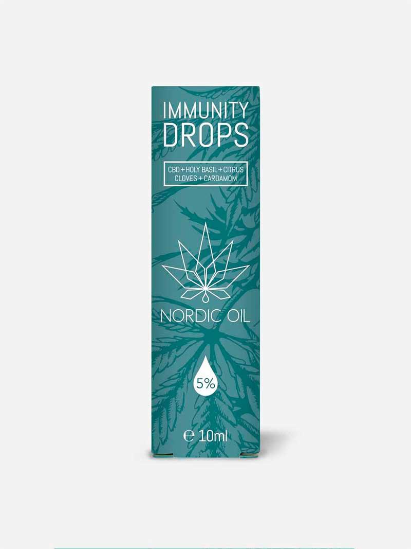 Confezione Immunity drops